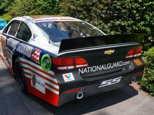 NASCAR came to the governor's mansion Wednesday when Gov. Pat McCrory honored the 2014 class of inductees to the sport's hall of fame.