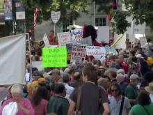 Protesters return to NC legislature