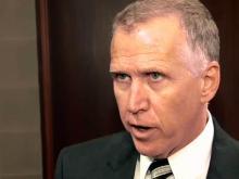 Tillis discusses vote on, speed of 'fracking' bill