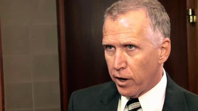 House Speaker Thom Tillis is running, and, polls show, trailing, in the race to represent North Carolina in the U.S. Senate.