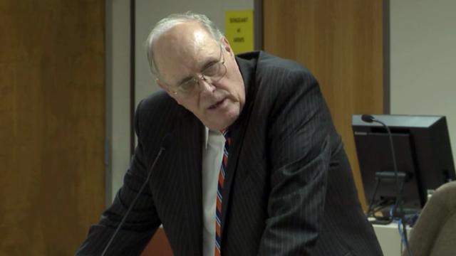 Sen. Jerry Tillman, R-Randolph