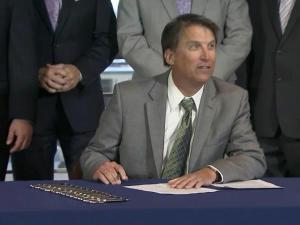 McCrory signs fracking bill