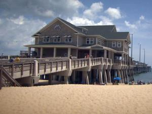 Jennette's Pier, which opened after a $25 million rebuild in 2011, is open to the public for fishing and other activities.