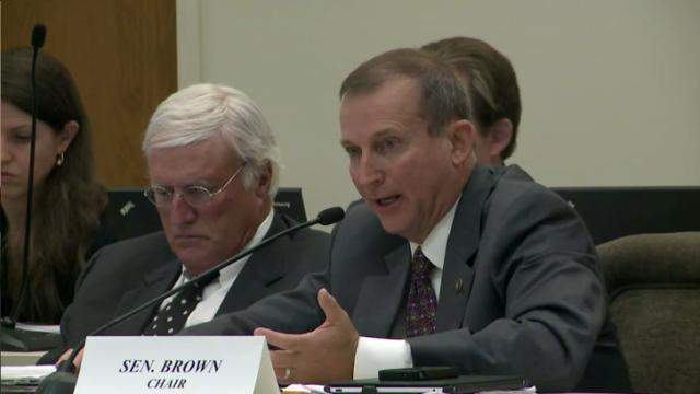 Sen. Harry Brown, R-Onslow