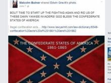 This is a screne capture of a Facebook post by Rowan Housing Authority Chairman Mac Butner.