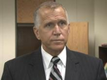 Tillis speaks about the budget