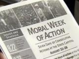 'Moral Week of Action' flier