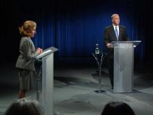 Accusations, talking points fly in first US Senate debate