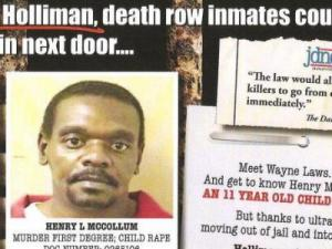 Holliman death penalty flier