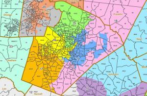 Wake County Senate Districts