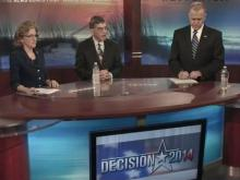 Three Senate candidates debate issues