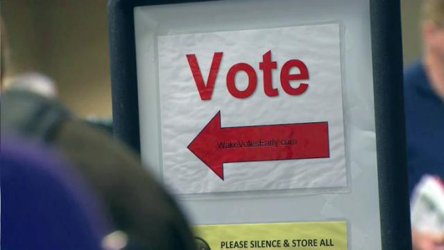 Early voting in Wake County