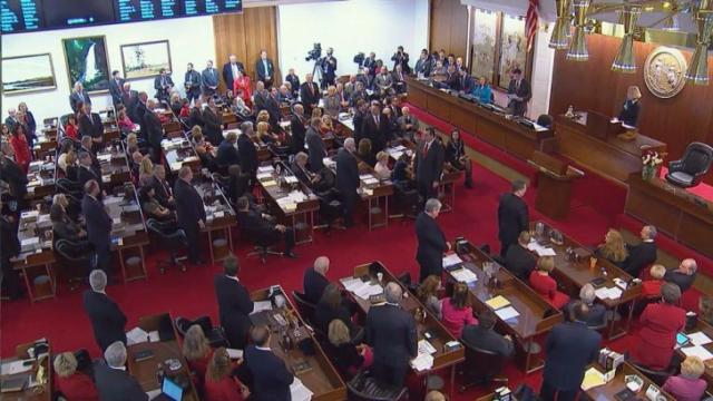 The state House opens its 2015 legislative session on Jan. 14, 2015.