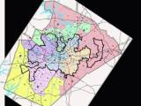 Proposed Wake County commissioner voting districts