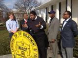 Barber at NC Legislature