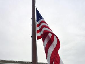 Honoring the 150th anniversary of the death of President Abraham Lincoln, Gov. Pat McCrory ordered all flags lowered to half-staff on state facilities Wednesday.