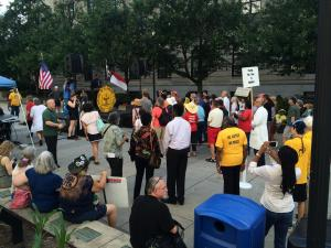 Moral Monday protest without arrests