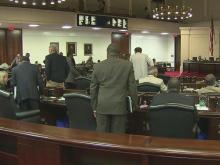 Senate debates amendments on taxes, spending