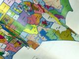 Voting map, redistricting