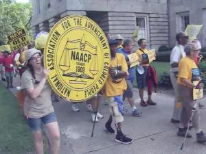 Voting rights rally part of national march