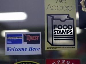 food stamps sign