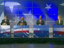 Democratic US Senate candidates debate