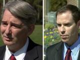 GOP attorney general candidates Buck Newton, Jim O'Neill