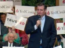 Ted Cruz campaigns in Kannapolis