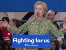 Clinton tries to shore up NC support