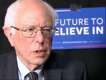 Web only: Sanders discusses presidential campaign