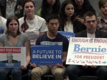 Sanders seeks to incite political revolution among young voters