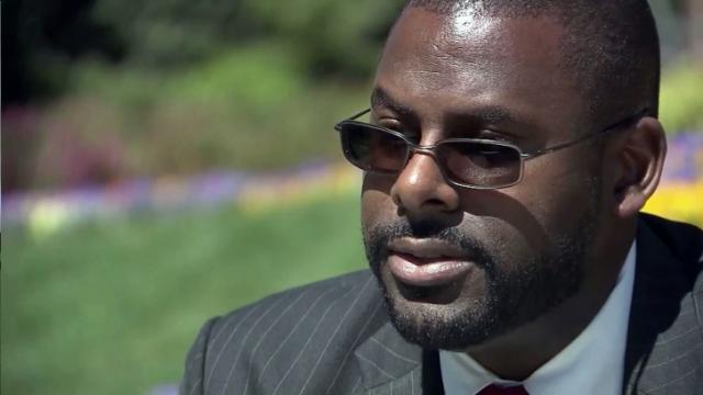 North Carolina Republican Party Chairman Hasan Harnett