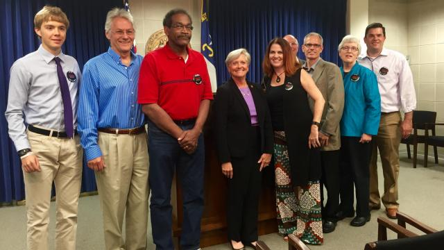 Advocates for people with aphasia came to the state legislature Wednesday to raise awareness of the disorder.