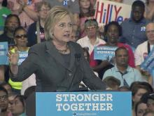 FULL: Clinton discusses economy in Raleigh campaign stop