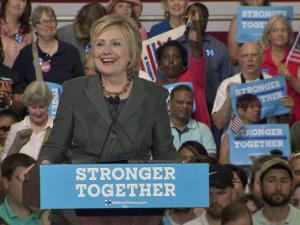 Hillary Clinton outlined her plan for the economy in a rally in Raleigh June 22, 2016.