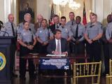 McCrory blue alert signing