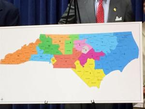 Nonpartisan NC congressional map