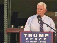 Pence returns to North Carolina for rally