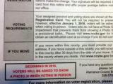 Alamance Voter ID Mailing