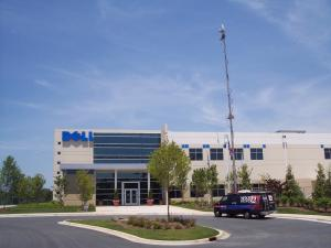 Dell's plant in Winston-Salem.