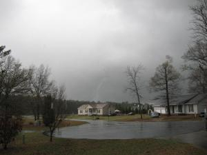 Here a picture at 5:55PM over 95 in eastover (Photo submitted by: Joel Daigle)