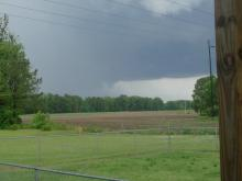 Severe weather rolled through North Carolina for the third day in a row.