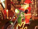 Santa on his hog