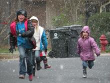 Schools dismissed early for snow threat