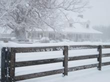 Snow fell on Christmas night in 2010 Raleigh and the Triangle. It was the first white Christmas in more than 60 years.