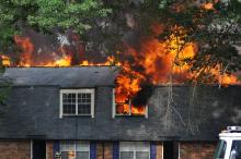 Fire ravages Raleigh apartment complex