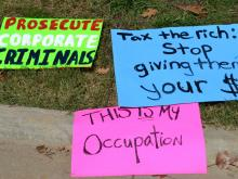 """Hundreds of supporters of the """"Occupy Wall Street"""" movement gathered in downtown Raleigh on Oct. 15, 2011."""