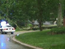 Tree fell across Ralph Drive about 30-40 minutes ago.  Cary police and fire on scene.