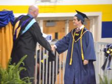 Colleges and high schools throughout the Triangle and eastern North Carolina are celebrating graduations and new beginnings.