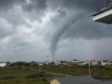 Cape Hatteras water spout
